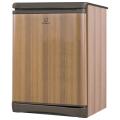 Холодильник INDESIT TT 85.005, общий объем 122л, морозильная камера 14л, 60x62x85 см, цвет дерево