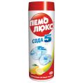 """Чистящее средство ПЕМОЛЮКС 480г, Сода-5 """"Лимон"""", порошок"""