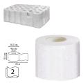 Бумага туалетная 25м, VEIRO Professional (Система T4), КОМПЛЕКТ 48шт, Comfort, 2-сл, T207