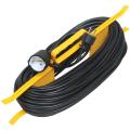 Удлинитель на рамке IEK (ИЕК) ГОСТ Р51322.1, 1 розетка, 50метров, 3х1мм, 2200Вт, с заземлением.