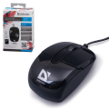 Мышь проводная оптическая DEFENDER Optimum MS-130, USB, 800dpi, 3 кнопки, черн., 52130