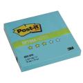 "Блок самоклеящ. (стикер) POST-IT Optima ""Зима"" 76х76 мм, 100 л., голубая пастель, 654-OPB"