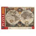 Пазл STANDARD 1000 элементов, А2, Старинная карта мира, 450*680мм, 1000ПЗ2_14500 (U200841)