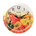 """Часы настенные TROYKA 11000022 круг, с рисунком """"Болгарский перец"""", рамка в цвет корпуса, 29x29x3,5см"""