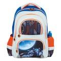 Рюкзак BRAUBERG с EVA спинкой, для начальной школы, мальчик, Космолет, 12 литров, 38*30*14см