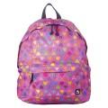 Рюкзак BRAUBERG (БРАУБЕРГ) универсальный, сити-формат, фиолетовый, Сердечки, 23 литра, 43*34*15 cм