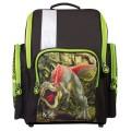Ранец жесткокаркасный BRAUBERG, для начальной школы, мальчик, Динозавр, 18 литров, 36*26*14 см