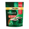 Кофе растворимый JACOBS MONARCH (Якобс Монарх), сублимированный, 240 г, мягкая упаковка, 62360