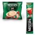 """Кофе растворимый NESCAFE (Нескафе) """"3 в 1 Крепкий"""", 16 г, пакетик, 12235514 (упаковка 50шт)"""