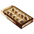 """Печенье БИСКОТТИ (Россия) """"Неробьянко"""", с шоколадной и кремовой начинкой, глазированное, 265 г, картонная коробка"""