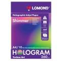 Дизайн-бумага LOMOND с голографическими эффектами(мерцание) А4, 260 г/м2, 10л, односторонняя 0904041