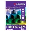 Дизайн-бумага LOMOND с голографическими эффектами (куб), А4, 260 г/м2, 10 л., односторонняя, 0902041