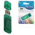 Флэш-диск 16 GB, SMARTBUY Glossy, USB 2.0, зеленый, SB16GBGS-G
