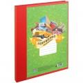 Портфолио папка пластиковая ArtSpace, на 2-х кольцах для школьника, 10 файлов