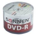 Диски DVD-R SONNEN, 4,7 Gb, 16x, Bulk, 50 шт., 512574