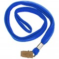 Лента для бейджей Berlingo, 45 см, металлический клип, синий, PDk_00014