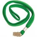 Лента для бейджей Berlingo, 45 см, металлический клип, зеленый, PDk_00214