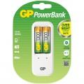 Зарядное устройство GP PB410GS130-2CR2 + 2шт акк. HR06 1300mAh