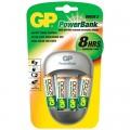 Зарядное устройство GP PB27-BС4 + 4шт акк. HR06 2700mAh