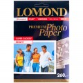 Фотобумага LOMOND для струйной печати, А6 (105х148мм), 260г/м2, 20л, односторонняя, суперглянцевая 01103102
