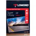 Фотобумага LOMOND для струйной печати, А4 (210х297мм), 270г/м2, 20л, односторонняя, суперглянцевая 1106100