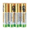 Батарейки GP Super, AAA (LR03, 24А), алкалиновые, 4 шт., в пленке, 24ARS-2SB4