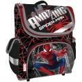 """Ранец Академия Групп """"Amazing Spiderman-2"""", 36*27*17см, 1 отделение, 3 кармана, эргономичная спинка"""