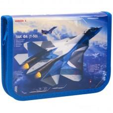 """Пенал 1 отделение, 190*130 ArtSpace """"Fighter"""", ламинация, 30П29_ПК4_25407"""