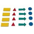 """Магниты-символы для планинга 2х3 (""""Дважды три"""", Польша), 4 листа (307 символов), ассорти, AS101"""