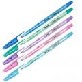"""Ручка шариковая масляная Berlingo """"Tribase Pastel"""", синяя, узел 0,7мм , толщина 0,5 мм, CBp_70942"""