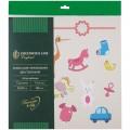 "Набор бумаги для скрапбукинга Greenwich Line ""Наш Малыш"", 12л., 30*30см, БС_22874"