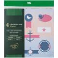 "Набор бумаги для скрапбукинга Greenwich Line ""Морской узор"", 12л., 30*30см, БС_22875"