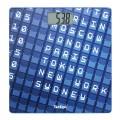 Весы напольные TEFAL PP2100V0, электрон, макс нагрузка 160кг, квадрат, стекло, синие