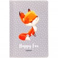 """Обложка для паспорта MESHU """"Happy Fox"""", ПВХ, 2 кармана, MS_34135"""
