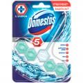 """Подвесной блок для унитаза Domestos """"Кристальная чистота"""", с хлором, 55г, блистер, 67253005"""