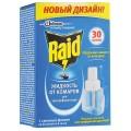 Средство от насекомых жидкость для фумигатора RAID (Рейд), 30 ночей, сменный блок, ш/к 91183