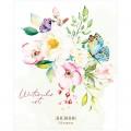 """Дневник мягкий 5-11 кл. 48л. ArtSpace """"Цветы. Watercolor flowery"""", ВД-лак, Дс48_36212"""