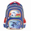 Рюкзак BRAUBERG с EVA спинкой, для начальной школы, мальчик, Дроид-футболист, 38х30х14 см, 226892