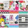 """Обложка для паспорта OfficeSpace фотопечать, ПВХ, """"Style"""" ассорти 15 дизайнов, 201784"""