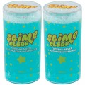 "Слайм Slime ""Clear-slime. Голубая мечта"", голубой, с наполн. звездочки, аромат ассорти, 250г"