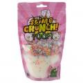 """Слайм Slime Crunch-slime """"Poof"""", белый, с пенопласт.шариками, с ароматом манго, 200г, дой-пак, S130-28"""