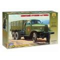 Модель для склеивания АВТО Автомобиль грузовой советский ЗИС-151, масштаб 1:35, ЗВЕЗДА, 3541