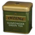 Чай TWININGS «Green tea Gunpowder», зеленый, железная банка, 100 г
