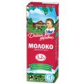 Молоко ДОМИК В ДЕРЕВНЕ жирность 3,2%, картонная упаковка, 950 г
