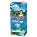 Молоко ДОМИК В ДЕРЕВНЕ жирность 1,5%, картонная упаковка, 950 г