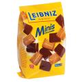 """Печенье BAHLSEN Leibniz (БАЛЬЗЕН Лейбниц) """"Minis Choko"""", сливочное с шоколадом, 100г, ГЕРМАНИЯ"""