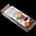 Печенье БИСКОТТИ (Россия) с фундуком, шоколадом и вафельной крошкой, сдобное, 100г
