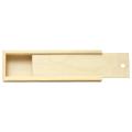 "Пенал для кистей ""Сонет"", деревянный, сосна, 35х10х4 см"