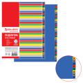 Разделитель пластиковый BRAUBERG А4+, 31 лист, цифровой 1-31, оглавление, Цветной, РОССИЯ