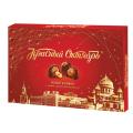 Конфеты шоколадные КРАСНЫЙ ОКТЯБРЬ с кремовой начинкой и фундуком, 200г, картонная коробка